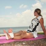 detoxpads-woman on beach