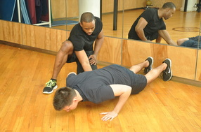 1-to-1 personal training by Roy Hanson