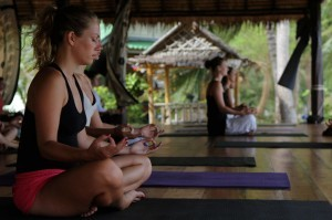becoming yoga teacher