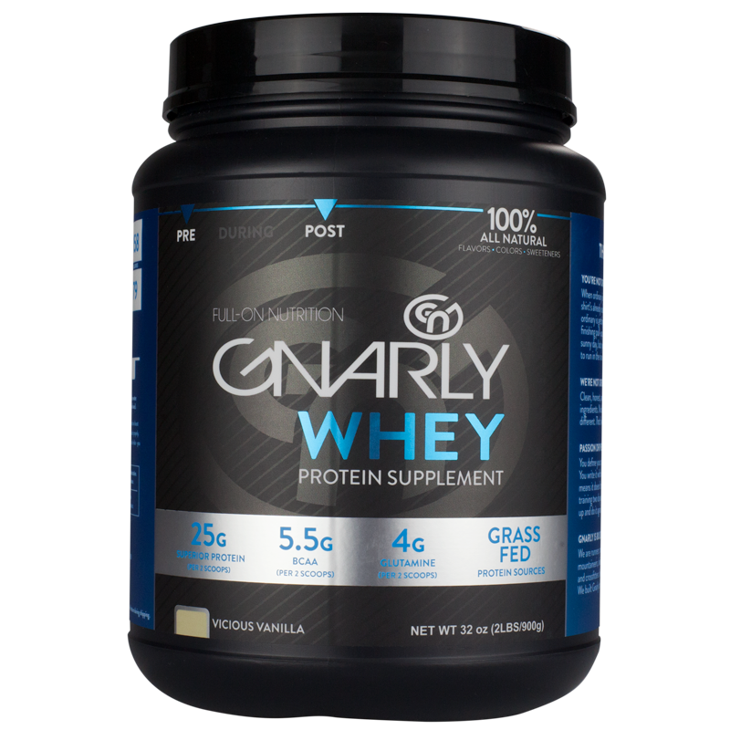 gnarly whey protein