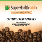 Caffeine patches for Energy