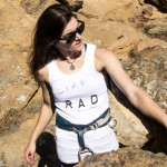 RAD summer tank - rock climbing