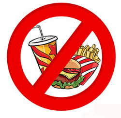 junk food bad